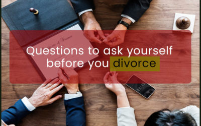 Questions to Ask Yourself Before You Divorce