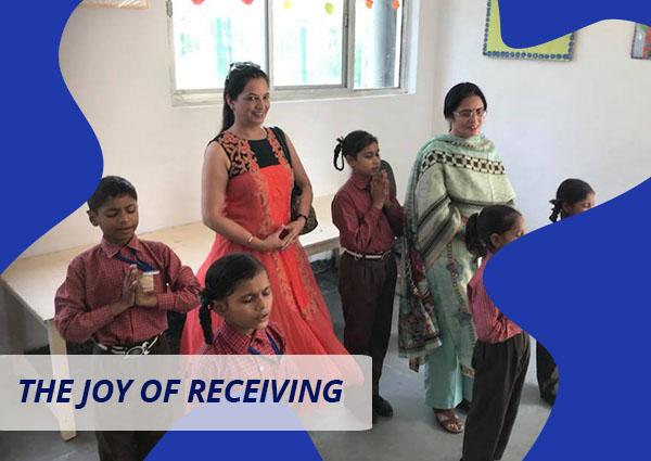 The Joy of Receiving